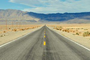 Eine Straße in den USA