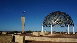 Das HMAS Sydney II Memorial in Geraldton