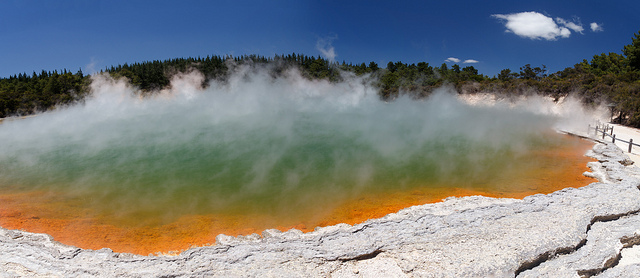 See im Wai O Tapu Thermal Wonderland