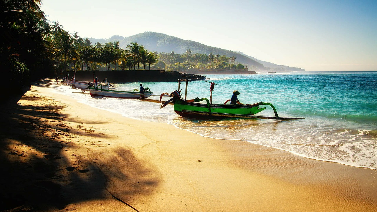 Padangbai in Bali
