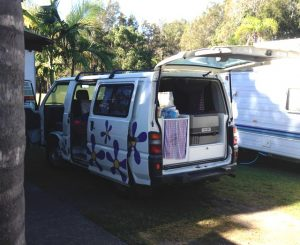 Hippi Camper Campervan Australien