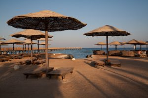 Privatstrand des Grand Makadi in Makadi Bay