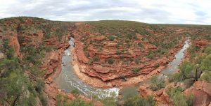 z-bend im Kalbarri Nationalpark