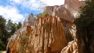 Red Canyon in Mui Ne, Vietnam