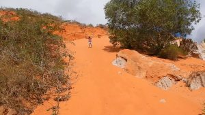 Sandberg im Red Canyon, Fairy River, Mui Ne, Vietnam