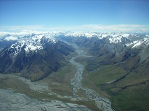 Mackenzie Country in Neuseeland
