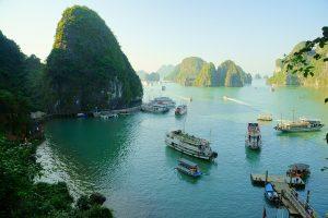 Top 5 Sehenswürdigkeiten in Vietnam platz 1 halong-buch halong bay bucht