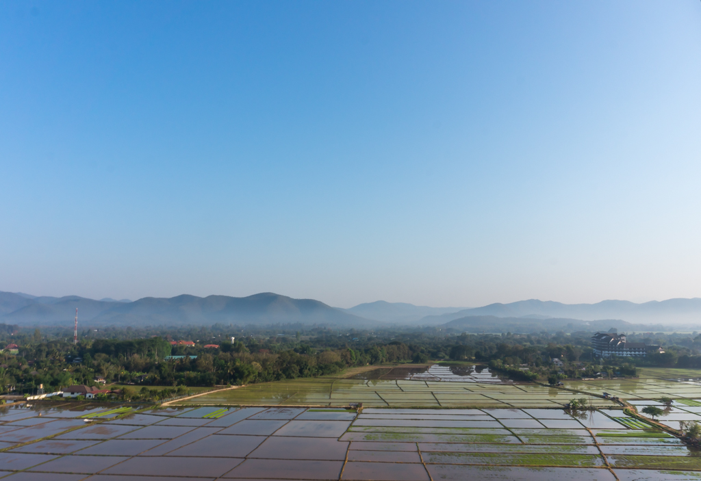 Chiang Mai aus der Luft