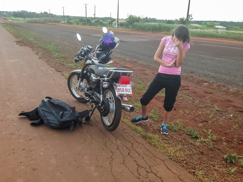 Unfall in Paraguay