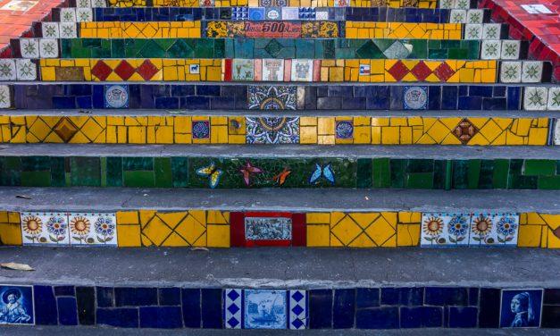 Escadaria Selaron – die Fliesentreppe