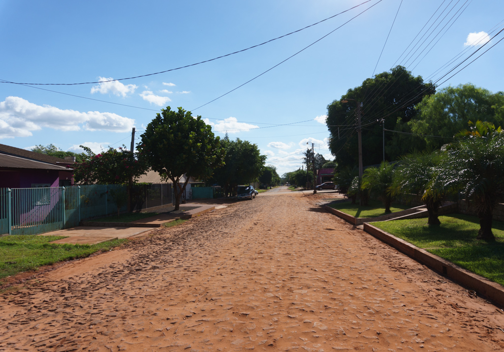 Straßen in Paraguay