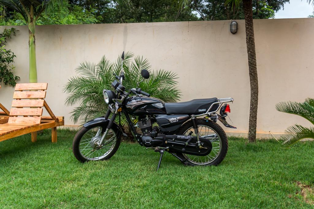 Unser neues Motorrad in Paraguay