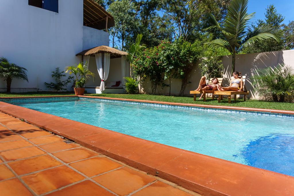 Perfektes Leben in Paraguay
