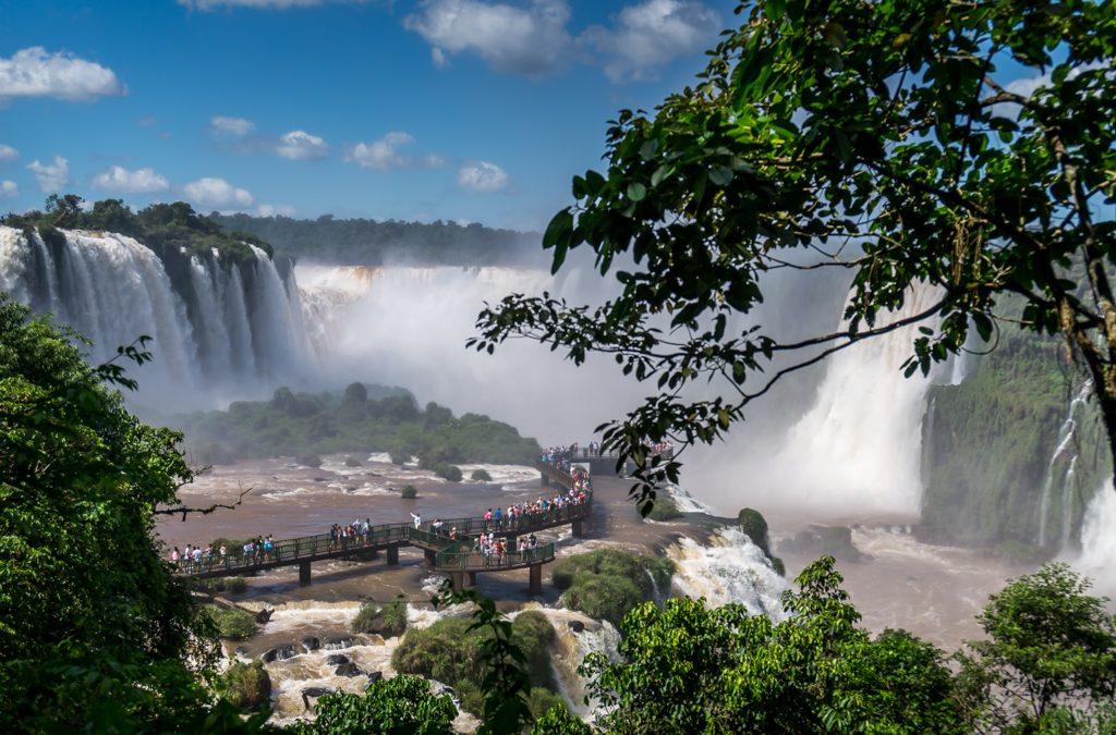 Unser Tag bei den Iguazu Wasserfällen auf der brasilianischen Seite