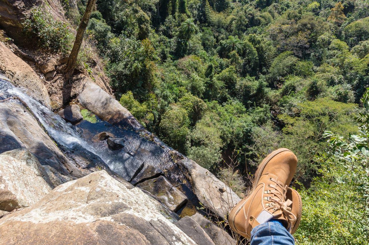 Die Spitze des Salto Suizo