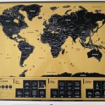 Unsere neue Rubbel Weltkarte